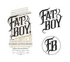 Fat Boy Whisky on Behance
