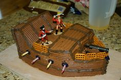 Living Frugally without being called a Cheapskate: Pirate Ship Birthday Cake