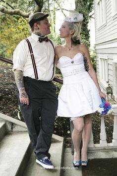 Seattle Rockabilly Wedding