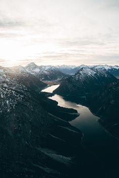 woolcott: Last Sunlight Over The Alps- WLCT