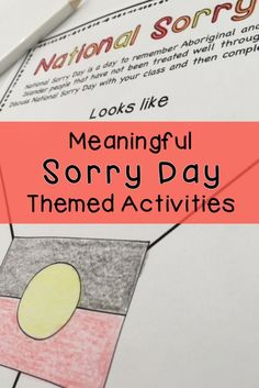 National Sorry Day - Reconciliation Activity Pack - Years 3 & 4 Aboriginal Education, Indigenous Education, Aboriginal Culture, School Resources, Teacher Resources, Teaching Ideas, National Sorry Day, Rainbow Sky, Australian Curriculum