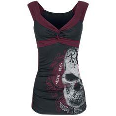 Devils Skull Pact - Top by Alchemy England Skull Fashion, Punk Fashion, Grunge Fashion, Gothic Fashion, Fashion Outfits, Womens Fashion, Fashion Hats, Lolita Fashion, Fashion Styles