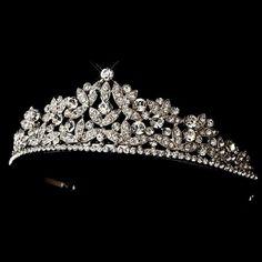 Свадебная диадема - Богатая