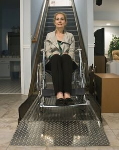 Inclined Platform Wheelchair lifts for Stairs and Homes
