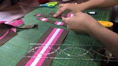 Mulher.com 30/04/2013 Camila Martins - Patchwork seminole toalha Parte 1/2