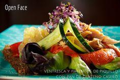 Sándwich Open Face, ¿arte o moda gastronómica?  #doblecremacafe