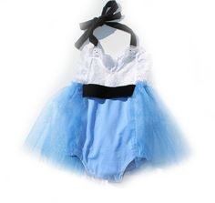 Alice in Onederland Sparkle Tutu Romper READY TO SHIP