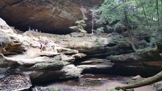 "Last Saturday September 2016, went hiking with Noelle Lori-Elizabeth Teel, Fairygodbrother Cody Carte and Tony Vanoy at ""Old Man's Cave"" in Hocking Hills State Park in Ohio. We had a great time."