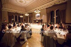 During the wedding breakfast, Samuels Restaurant, Swinton Park