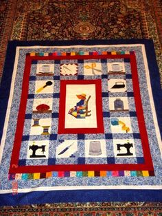 """Paper-pieced Quilting Motifs Quilt by """"brady"""" from the quiltingboard.com"""