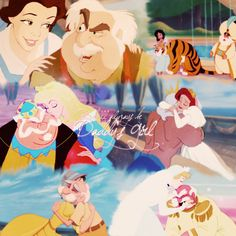 Disney fathers with their daughters
