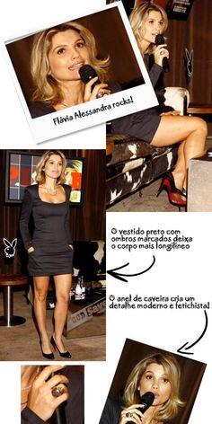 Não é preciso mais que um minuto para adorar Flávia Alessandra. Com um sorriso sempre aberto e nos pés uma sandália Dior (phynna!), Lalá foi conversar com ela para saber os seus segredinhos de bele…