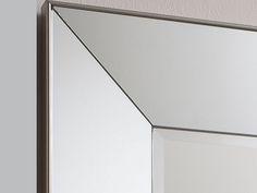 Vasto Rectangular Mirrored Frame Wall Mirror,Contemporary large mirrors UK,Oversized mirrors