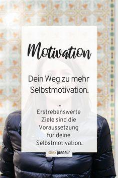 """Wie ist das mit der Selbstmotivation? Warum sind einige Menschen motivierter als andere? Warum schaffe ich nichts, obwohl ich den ganzen Tag """"arbeite""""? Plane deinen Tagesablauf!Für mehr Produktivität und weniger Prokrastination - Motivation in der Selbstständigkeit. #Motivation #Selbstständigkeit #Produktivität #Business #Unternehmer #Gründung #ShePreneur #Prokrastination Stress Management, Mental Training, Women Empowerment, Mindset, Online Business, Coaching, How To Become, Mindfulness, Cards Against Humanity"""
