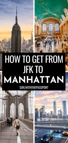 How to get from JFK to Manhattan | New York Travel | New York Travel Tips | NYC Guide | NYC travel | NYC Trip | NYC Travel Tips | NYC Guide | New York Guide | JFK Airport NY | JFK Airport New York NYC | NYC Transportation | How to Get Around New York | How to Get Around NYC | NYC Subway | JFK terminals |#NYCTravel #NewYorkGuide #NYCTips