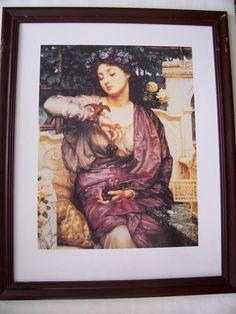 Large Vintage framed Canadian Art Print  SPARROW  31.5 x 25.5 by LIZ404 on Etsy