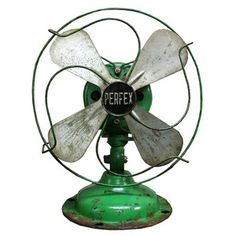 "Perfex Fan 8"" Green, $112, now featured on Fab."