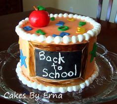 Back-To-School Cake!