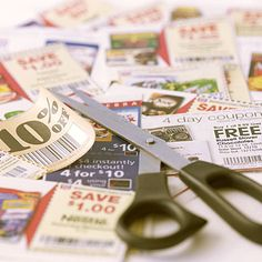 keep coupons in a large binder with clear plastic baseball card holders...or in a small binder with business card holders.