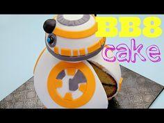BB-8 Star Wars Cake - CAKE STYLE - YouTube