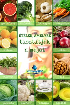 Egészséges ételeke, amik tisztítják a májat! - Kattints a képre és olvass többet a helyes táplálkozásról. Eating Well, Superfood, Healthy Lifestyle, Food And Drink, Healthy Recipes, Vegetables, Fitness, Food, Alternative