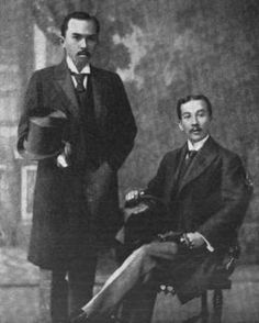 "Jose ""Sixto"" Lopez (LEFT) and Felipe Agoncillo (RIGHT), Philippine ambassadors to the United States. Agoncillo was commissioned as Minister Plenipotentiary to negotiate treaties with foreign governments. PHOTO was taken in 1898."