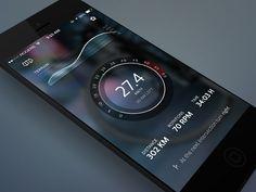 CyclingApp Concept by Stoica Alexandru #UI #mobile