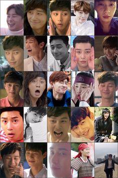 That Park Seo Joon smile, reaction, poker face , epic face, epic smile 😂😂😍 Asian Actors, Korean Actors, Park Seo Joon Instagram, Seo Kang Joon Wallpaper, Joon Park, Got7 Funny, Park Seo Jun, Drama Memes, Park Hyung Sik