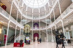 The National Museum of Scotland, Edinburgh, Scotland, was formed in 2006 with the merger of the new Museum of Scotland, with collections relating to Scottish antiquities, culture and history.