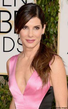 Golden Globes 2014: le meilleur et le pire des looks beauté - Sandra Bullock | Elle Québec