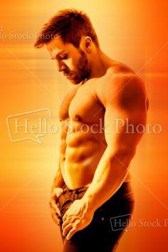 bodybuilding man - Royalty Free Stock Photo - Markus Gann
