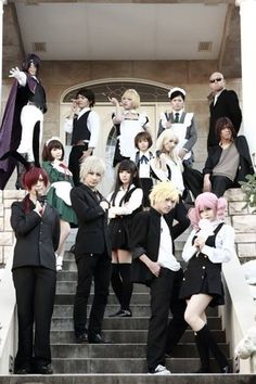 Inu x Boku SS cosplay! This is amazing and I'm now addicted to this anime. It's kept me up this late.