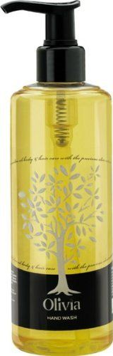 Olivia Papoutsanis Hand Wash with Greek Olive Oil , 300ml by Olivia, http://www.amazon.co.uk/dp/B00BMTJTBY/ref=cm_sw_r_pi_dp_aUmtrb0ZDW78H