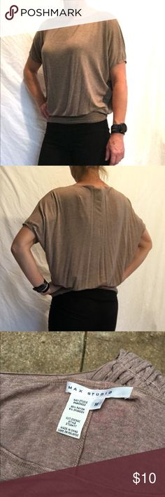 MAX STUDIO Knit Top M Worn several times and has some pilling but it is barely noticeable. Cute with jeans or wear to work. Max Studio Tops Blouses