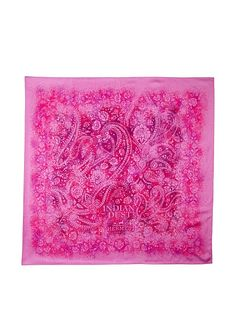 Hermes Women's Carre Scarf, Pink/Fuchsia/Purple at MYHABIT