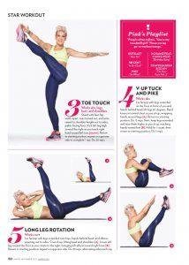 Singer Pink Workout & Diet: Getting A Rock Star Body PopWorkouts