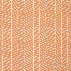 Fabric... Flora Herringbone in Carrot by Joel Dewberry for FreeSpirit Fabrics