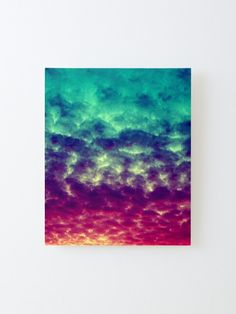 Alternate view of Beautiful Colorful Cloudy Skies Artwork Mounted Print Apartment Wall Art, Apartment Bedroom Decor, Apartment Interior Design, Tree Wall Art, Wall Art Decor, Pretty Room, Cool Apartments, Nature Decor, Canvas Prints
