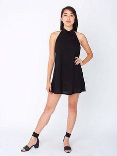 The Bib Dress, our new Little Black Dress. #AmericanApparel #Classic
