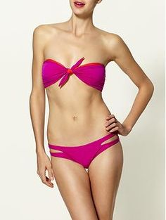 Solanas Reversible Bandeau Bikini Top  by Basta Surf