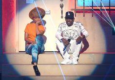 Erykah badu + Kendrick Lamar x 2013 BET Awards