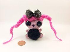 Mini keychain Chubbee Doll Plush Stuffed by LondonsKingdom on Etsy