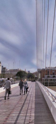 Puente de la Mujer, Puerto Madero, Buenos Aires, Argentina. Sidewalk, Bucket, Street View, Travel, Viajes, Shadow Art, Buenos Aires, Bridges, Shades