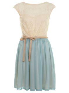 bow/lace/blue
