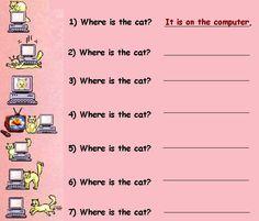 preposition of place - Google keresés