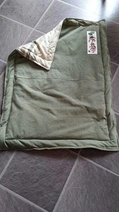 Babytæppe: Barselsgave, syning, korssting, baby blanket, diy, Cross stich, sewing
