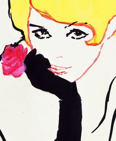 Dior Illustrated: René Gruau and the Line of Beauty by Eye magazine, via Flickr