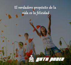 El verdadero propósito de la vida es la felicidad #autopoder #musicapositiva #ritmopositivo #salud #dinero #amor #vida #leydeatraccion #pnl #programacionmental