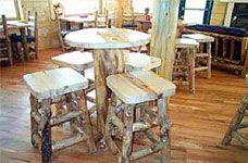 Rustic Restaurant and Hotel Furniture