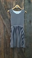 Olive and Oak striped dress $68